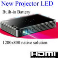 Цифровой Full HD проектор DLP портативный из светодиодов Projetor tft-hdmi USB карманные поручень 3D Videoprojector Proiettore Projektor