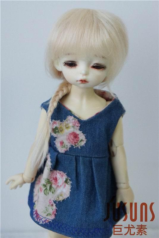 JD211 1/6 YOSD perruque poupée mohair Froz caractère perruques BJD - Poupées et accessoires - Photo 1
