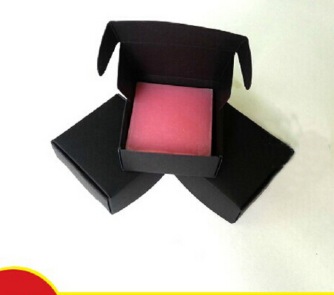 1 24 Joy 773cm Free shipping recycled black kraft jewelry boxes