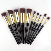 Poeder Mak 10pcs Professional Set Cosmetics Brand Mak up Brush Tools Foundation Brush For Face Beauty Essentials Brush
