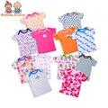 1 Pc  Children's T-Shirt 0-24 Months Baby Boys Girls Cartoon Cute Cotton Short-sleeved
