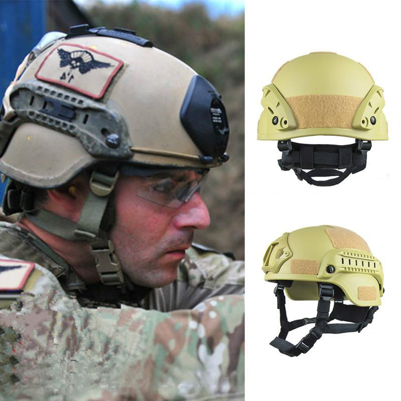 Outdoor Tactical Helmet Field CS Air Gun Paintball Shooting Game Head Protector Army Tactical Helmet Bicycle Riding Helmet