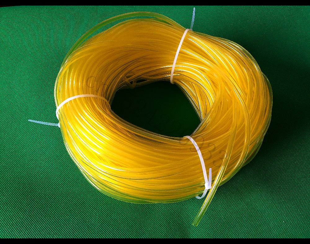 1 Meter Fuel Tank Parts Yellow Fuel Pipe Tube Fuel Line 5mm*3mm For Poulan Chainsaw Trimmer RC Engine Airplane Accessory