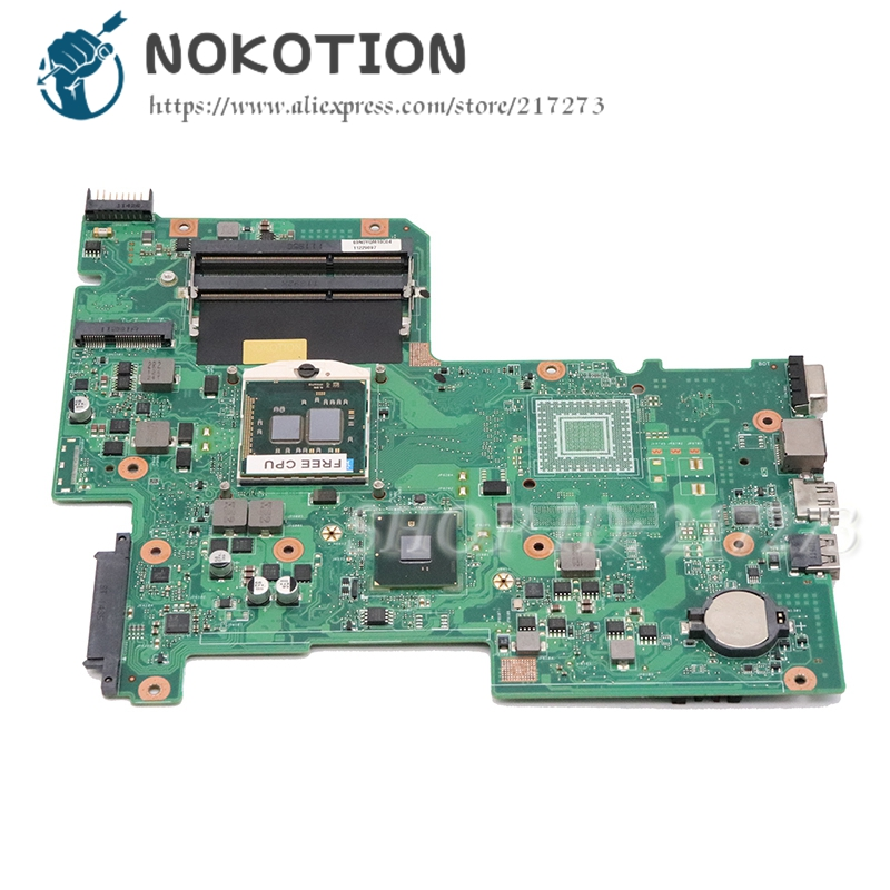 NOKOTION For Acer Aspire 7739Z Laptop Motherboard HM55 UMA DDR3 MBRN60P001 08N1-0NX3G00 AIC70 MAIN BOARD