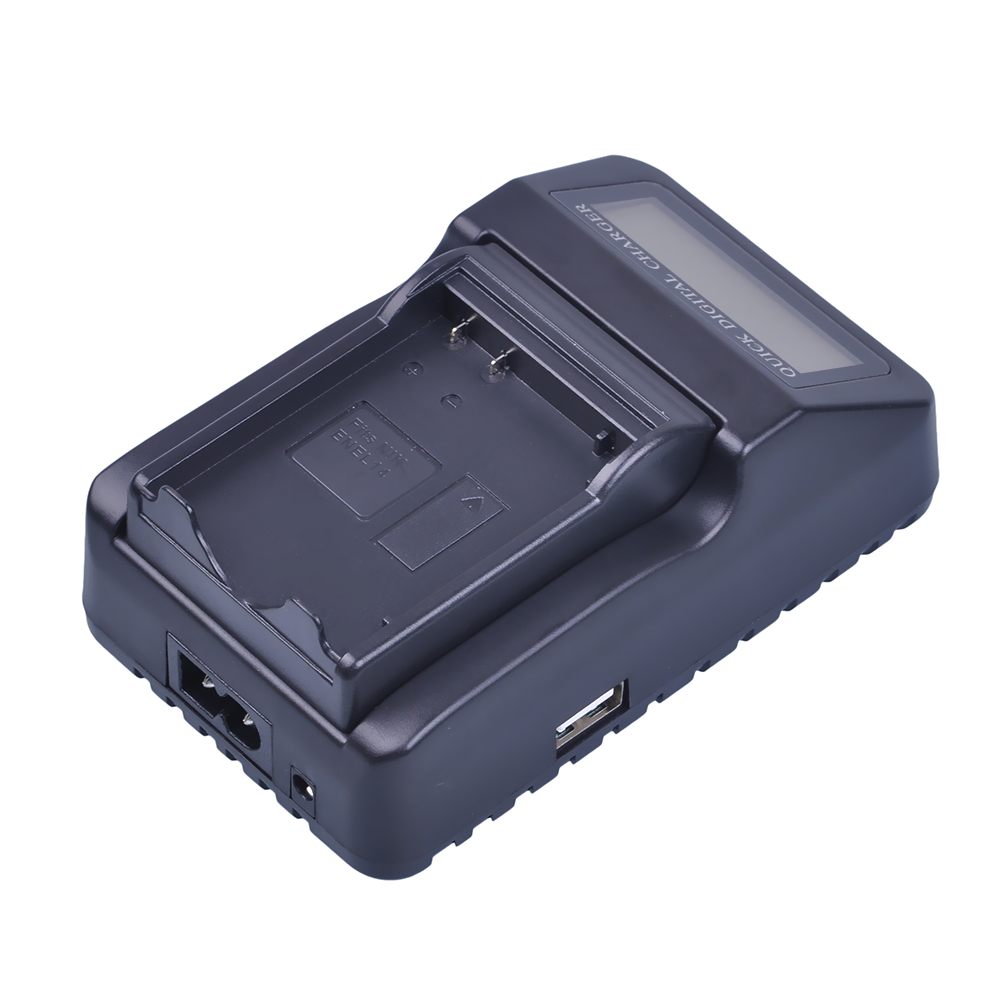 LCD Quick Battery Charger (3X faster)for Nikon EN-EL14 EN EL14 EL14a P7000 P7100 P7700 P7800 D3100 D3200 D3300 D5100 D5200 D5300