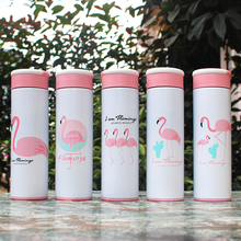 Vacuum 304 stainless steel thermos cup outdoor portable ladies straight custom LOGO water