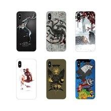 Mobile Phone Cover Bag House Stark Tully Arryn Lannister Tyrell For Motorola Moto X4 E4 E5 G5 G5S G6 Z Z2 Z3 G G2 G3 C Play Plus