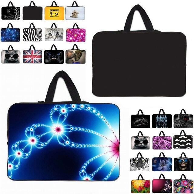 Neopren Stoßfest 17,3 15,4 14,1 12 13 14 15 17 10 9,7 11 Notebook Carry Tasche Fall Für Macbook Air 11,6 13,3 Laptop Zubehör