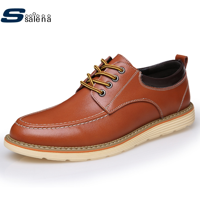 Men Casual Shoes High Quality Men Oxford Leather Shoes Flats Outdoor Walking Shoes AA20145 male casual shoes soft footwear classic men working shoes flats good quality outdoor walking shoes aa20135