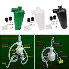 Ciclone filtro coletor de poeira turbocharged ciclone sem flange base conjunto ferramenta mais novo l29k