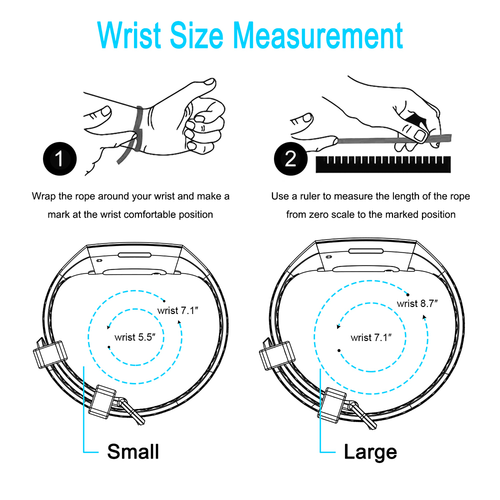 Honecumi For Fitbit Charge 3 Strap Soft TPU Wrist Watch Strap For Fitbit Charge 3 Band Replacement Accessories Small Large