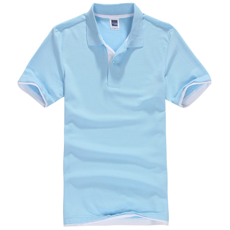 83fa9aee9 US $7.02 56% OFF|Brand New Men's Polo Shirt Men Cotton Short Sleeve Shirt  Sportspolo Jerseys Golftennis Plus Size XS 3XL Camisa Polos Homme-in Polo  ...