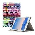 Падение shippingSimpleStone Красочный Ацтеков Племенных Pattern Кожа Стенд Case Cover Для iPad Air 2 May30 mosunx