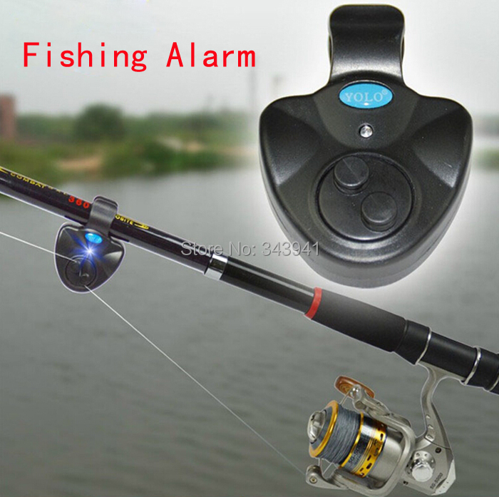 Electronic Fish Bite Sound Alarm Sea Fishing Buffer Alertor Fishing Bell Sea Rod Signal Device