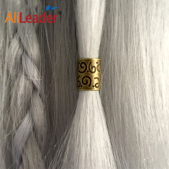 Alileader 20pcslot Copper Hair Beads For Dreadlock Hair Extensions