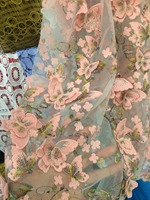 High Quality African Embroidered Lace Fabric French Lace Fabric Bridal Lace Fabric