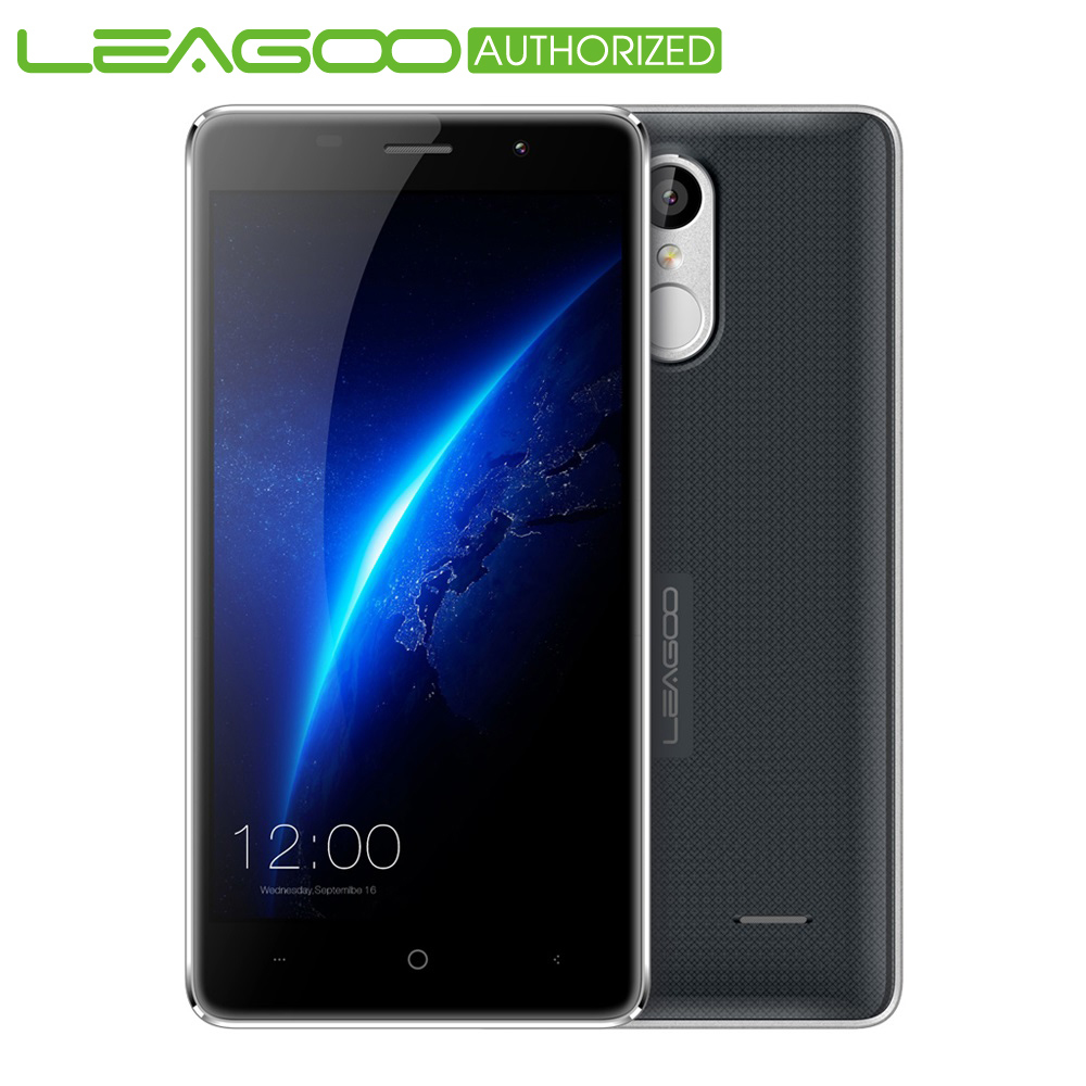bilder für Ursprüngliche Leagoo M5 Handy 5,0 ''Android 6.0 Smartphone MTK6580 1,3 GHz Quad Core 2 GB RAM 16 GB ROM Finggerprin 3G Zelle telefon