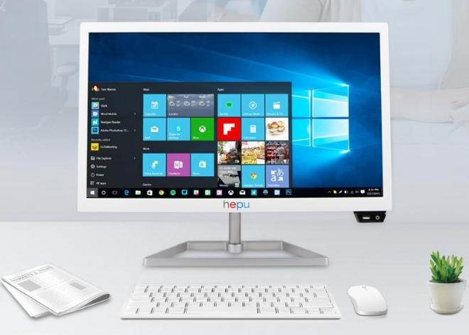 Intel Core I3/i5/i7 /2GB/4GB/8gb Ram 120Gb/1tb HDD With 18.5 22 24 27 Inch LCD HD 1080p Display All In One PC Computer Desktops