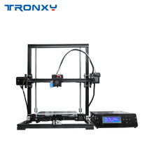 Tronxy X3A High Precision Desktop 3D Printer DIY Kit Large Printing Size with LCD Screen Auto leveling Sensor Support TF USB