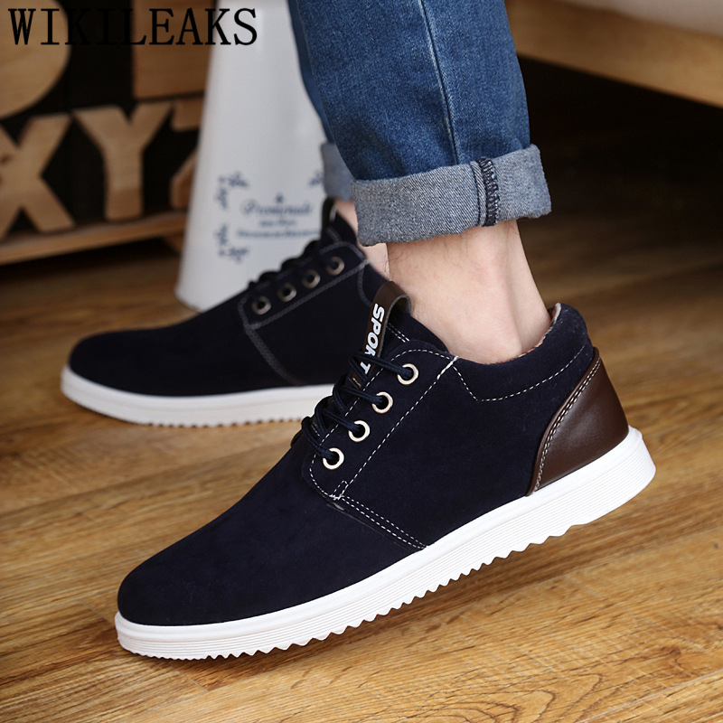 High Top Sneakers British Mens Shoes Casual Moccasin Shoes Men Leather Designer Shoes Men High Quality Chaussure Homme Ayakkabi