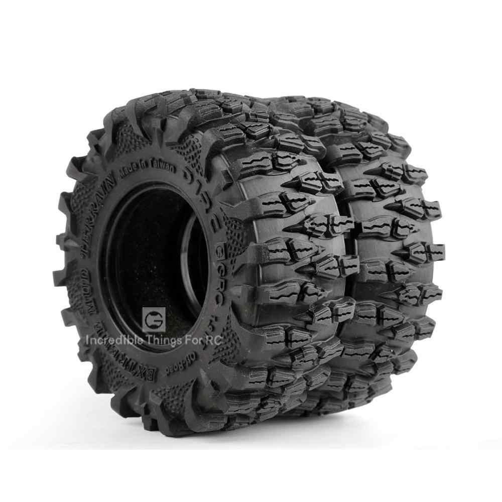 """4 piezas 1,9 """"dragon claw neumático esponja pad alto rendimiento para 1/10 RC oruga coche Trx4 guard Bronco D90 D110 Axial Scx10 90047"""
