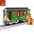 Kits de edificio modelo compatible con lego trenes carriles de tráfico 336 3d modelo de construcción bloques educativos juguetes y pasatiempos para niños