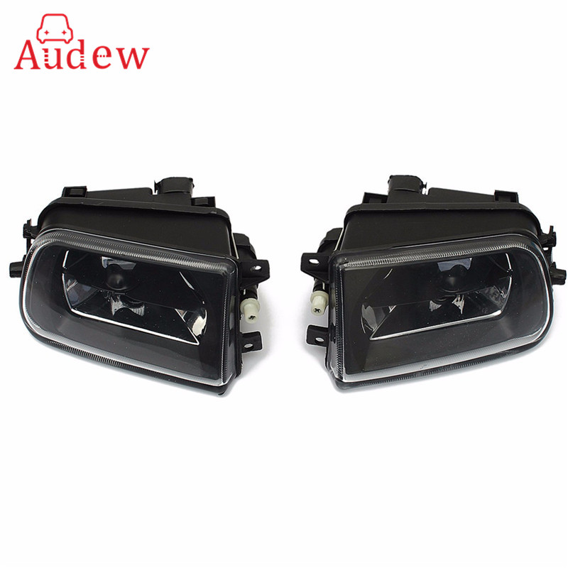 2x Clear Bumper Fog Lamps Front Driving Lights For BMW E39 528i 540i Z3 1997/1998/1999/2000/2001 Car Accessories 2pcs right left fog light lamp for b mw e39 5 series 528i 540i 535i 1997 2000 e36 z3 2001 63178360575 63178360576