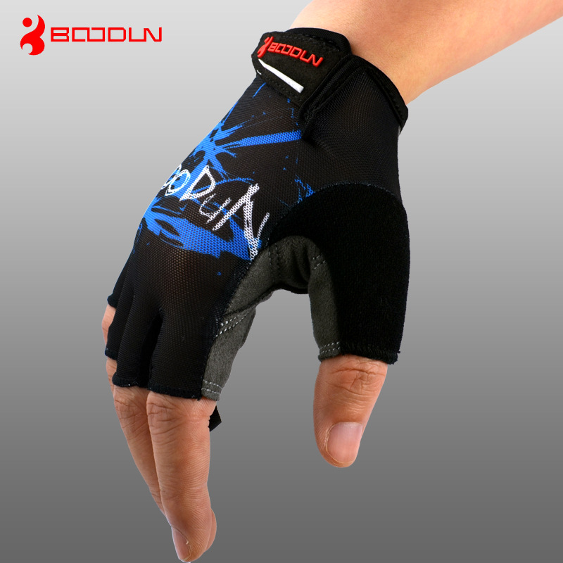 BOODUN Summer Breathable Men Womens Cycling Bike Gloves Half Finger MTB Road Mountain Bicycle Sports Gloves Cycling Equipment