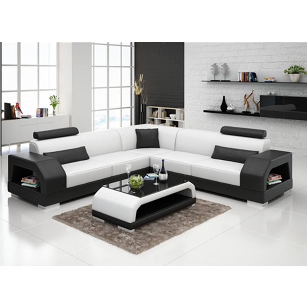 Us 1299 0 G8001b Modern Style Drawing Room Sofa Set Durable Furniture Leather In Living Sets From On Aliexpress