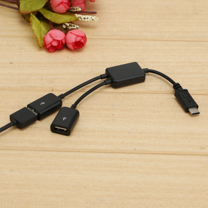 Image 5 - USB 3.1 Type C OTG HUB Cable 2 in 1 USB C 3.1 Male to Female Plug Cable Hub Type C to Double USB 2.0 converter cable