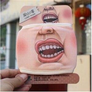 Image 5 - 1 шт., шутка злодея, маски с забавным изображением свиньи, нижняя половина лица, хлопковая Праздничная маска, рождественские маскарадные вечерние товары для косплея