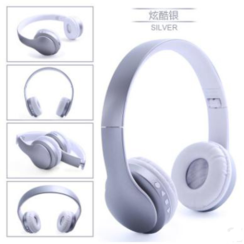 DRRBYY P23 Bluetooth Wireless stereo Headphone With Mic TF Card FM Radio Headset Voice Auricular For Google iPhone Sony Xiaomi 2017 new high end wireless bluetooth headphone stereo headset for iphone samsung xiaomi fm radio tf card mic aux mp3 lcd display
