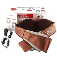 Multifunction Infrared 3D Kneading Massager Body Health Care U Shape Electrical Shiatsu Back Neck Shoulder Cellulite