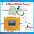1 Год Гарантии GSM 850 Сотовый Ретранслятор Сигнала CDMA 850 мГц мобильный Сигнал Усилитель 70dB GSM 850 Сотовый Телефон Усилитель Полный Комплект