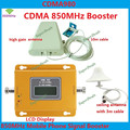 1 Ano de Garantia GSM 850 Repetidor de Sinal de Celular CDMA 850 mhz Sinal de celular Amplificador 70dB GSM 850 Impulsionador Do Telefone Celular Kit Completo