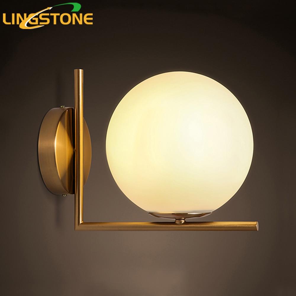 Modern led wall lamp sconce for living room bedroom wall for Bedroom wall sconce lights