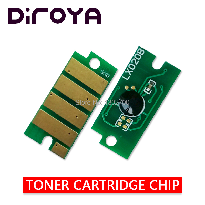 цена на 20PCS 106R02182 106R02183 2180/2181 Toner cartridge chip for Xerox Phaser 3010 3040 WorkCentre 3045 printer Powder refill reset
