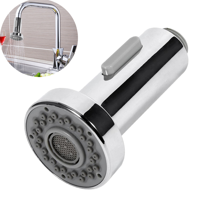 ステンレス鋼の台所の蛇口噴霧器デュアルモードキッチンアクセサリー蛇口スプレーヘッドプルアウトスプレーシャワーヘッド