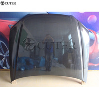 W204 C200 C300 AMG style Carbon Fiber Engine Hoods Auto Car Bonnet For Mercedes Benz W204 08 11