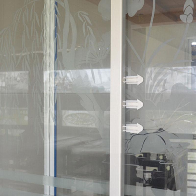 Practical New Quality Safety Child Lock Door Window Lock Latch Sliding Child Safety Sliding Window Locks Safety Random