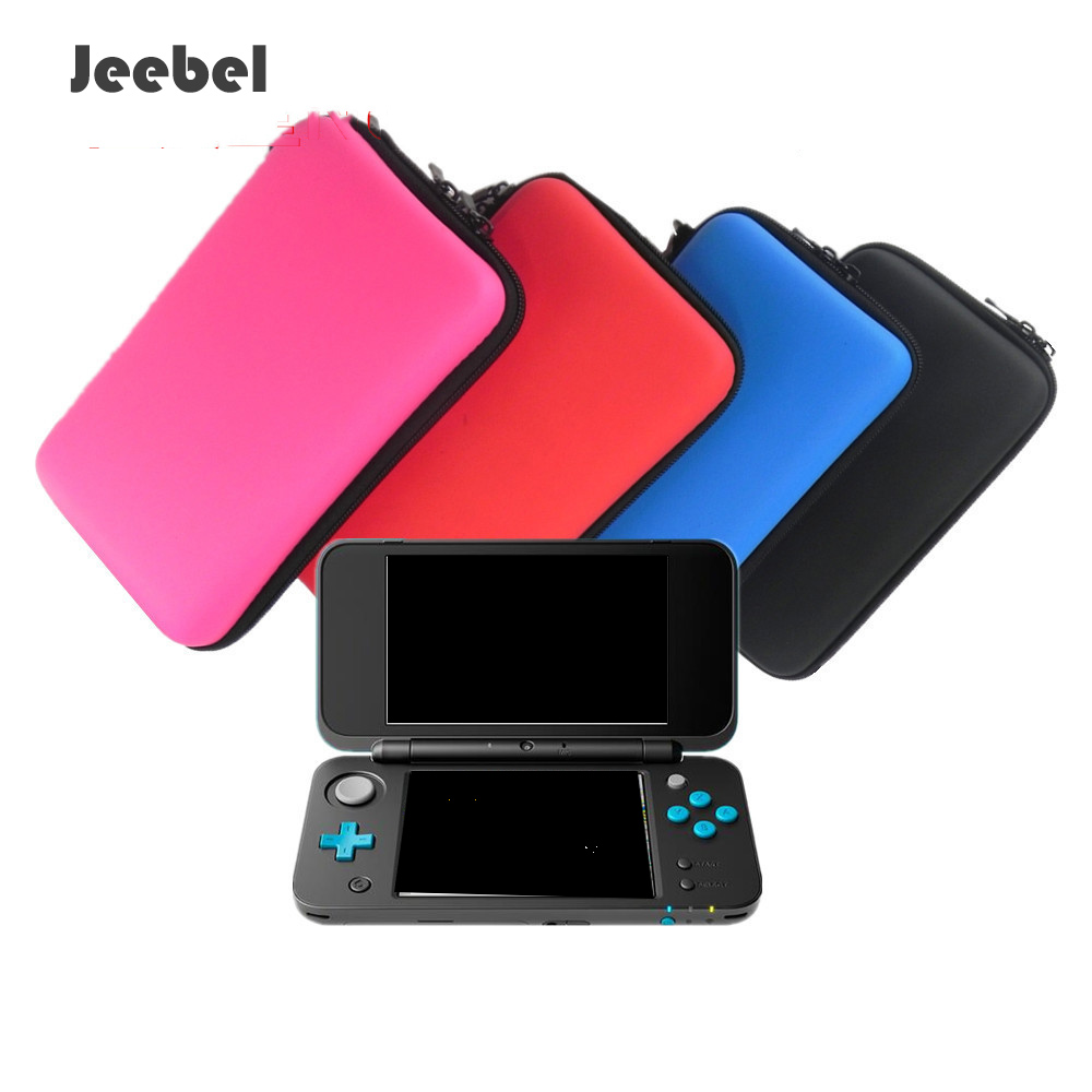 Jeebel Nintend New 2DS XL Case For New 2DS XL Hard EVA Protective Storage Case Cover Holder Funda Game Console Nintend 2DS Case