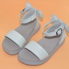 girls sandals 2019 new genuine leather summer walker shoes b