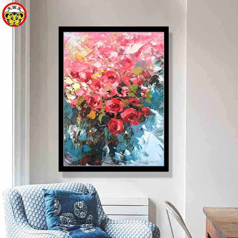 painting by numbers art paint by number Crocus landscape flower staircase decoration painting living room large size
