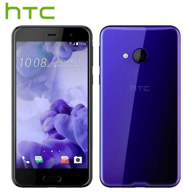 Оригинальный HTC U Играть 4 Г LTE Мобильный Телефон 4 ГБ RAM 64 ГБ ROM Octa Ядро 5.2 дюймов FHD 1080 P 16.0MP Отпечатков Пальцев NFC Dual SIM Смартфон