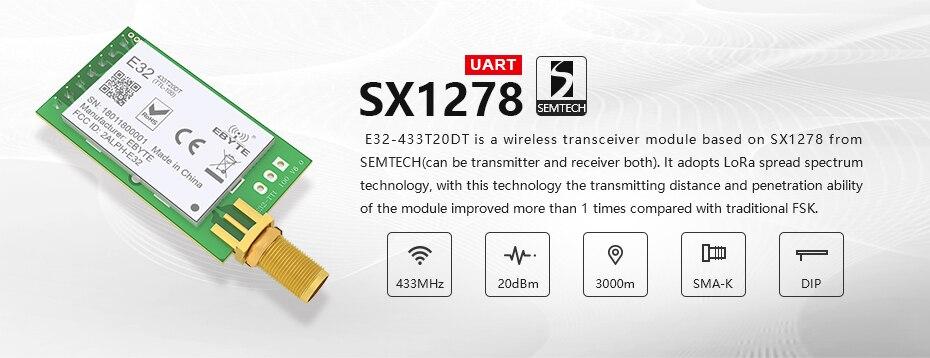 E32-433T20DT LoRa SX1278 (2)