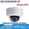 Pré-venda 12MP Câmera Hikvision IP Outdoor ONVIF POE IPC Inteligente DS-2CD45C5F-IZ 12MP IR Câmera Dome IPC Inteligente Motorizada Vari-focal