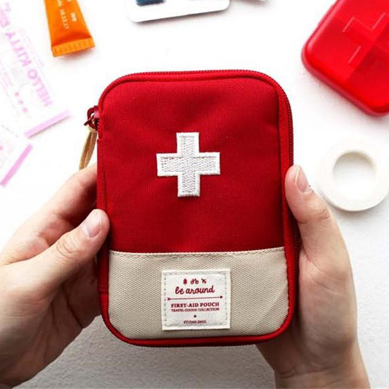 2 Specifications Portable Outdoor Travel Aid Medicine Bag Home Small Medical Box Emergency Survival Pill Case Quality And Quantity Assured