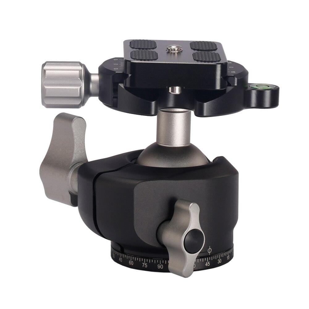 Штатив для камеры из алюминиевого сплава шаровая Головка панорамная как RRS BH-30 компактная шаровая Головка