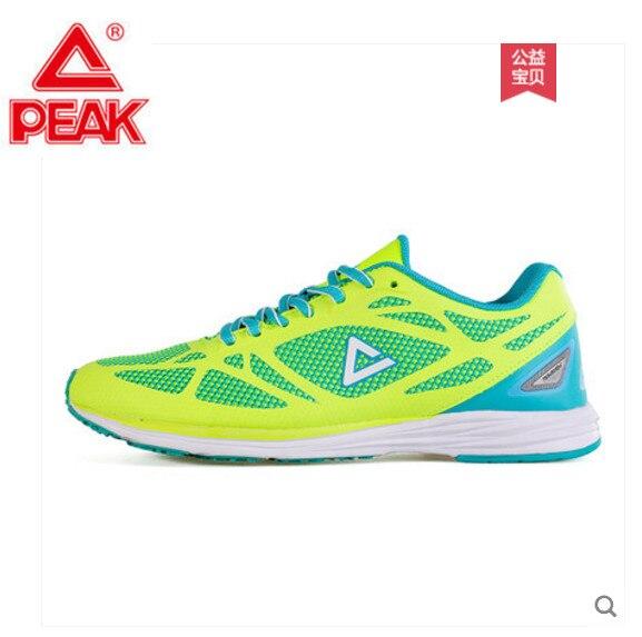 Tênis de pico sapatos 2019 novos tênis de corrida das mulheres sapatos de malha leve par de tênis de corrida sapatos E72178H desgaste das mulheres