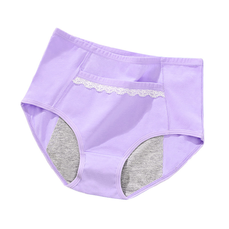 3 Pieces Pack Menstrual Period Panties Women Menstrual Underwear Lace Pocket Candy Colors Physiological Leakproof Female Briefs in women 39 s panties from Underwear amp Sleepwears